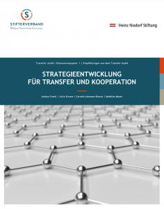 Strategieentwicklung für Transfer und Kooperation