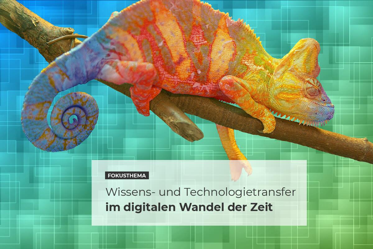 """Fokusthema """"WTT im Wandel der Zeit – Fokus Digitalisierung"""""""