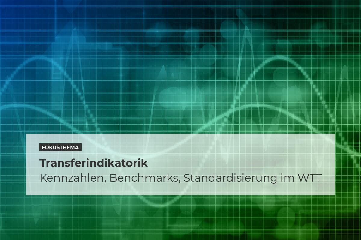 Transferindikatorik – Kennzahlen, Benchmarks, Standardisierung imWTT