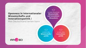 innOsci-Studie: Openness in internationaler Wissenschafts- und Innovationspolitik