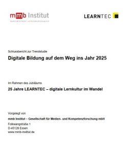Digitale Bildung auf dem Weg ins Jahr2025